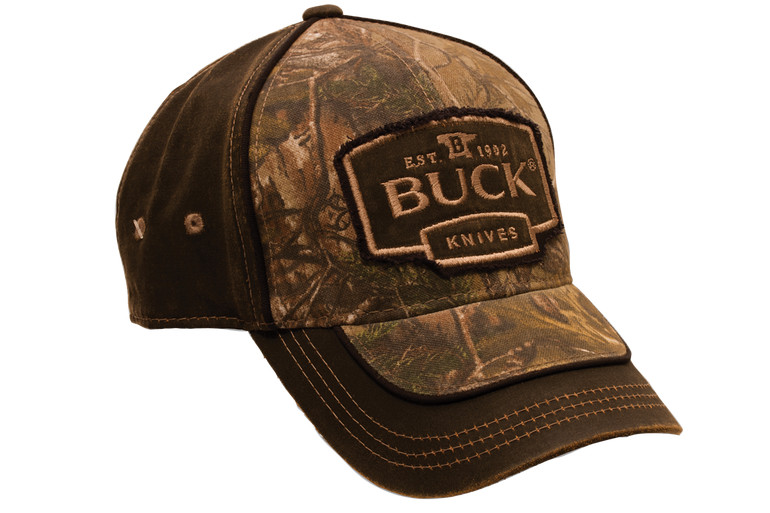 Adult Hat-Camo and Suede